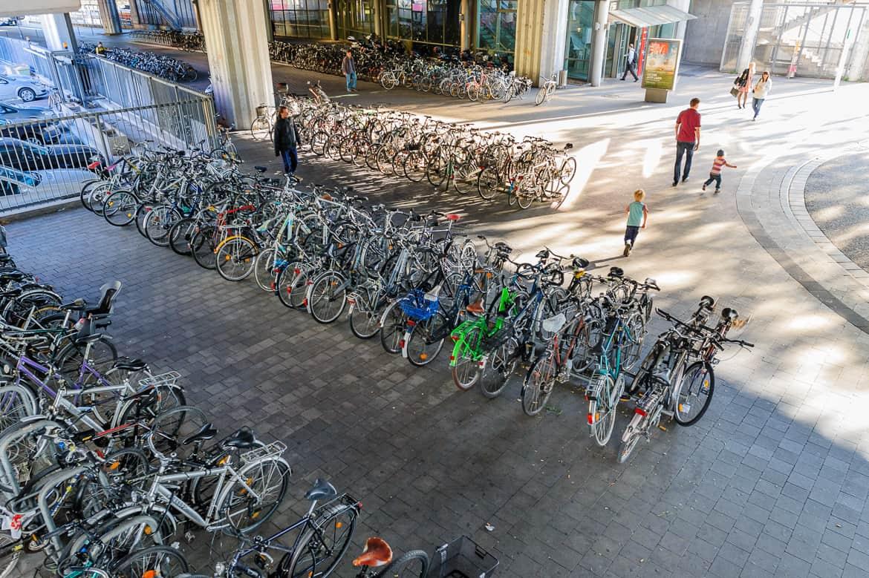 Fahrradabstellanlagen - Fahrradparken