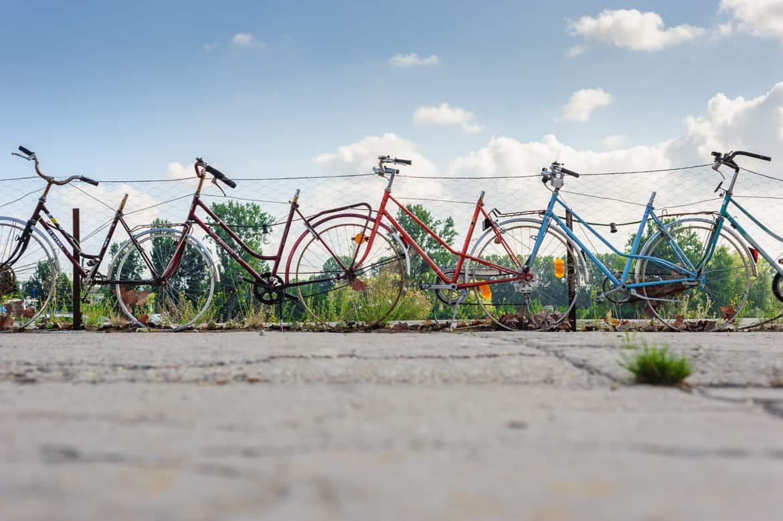 Fahrradzaun Planke Nord