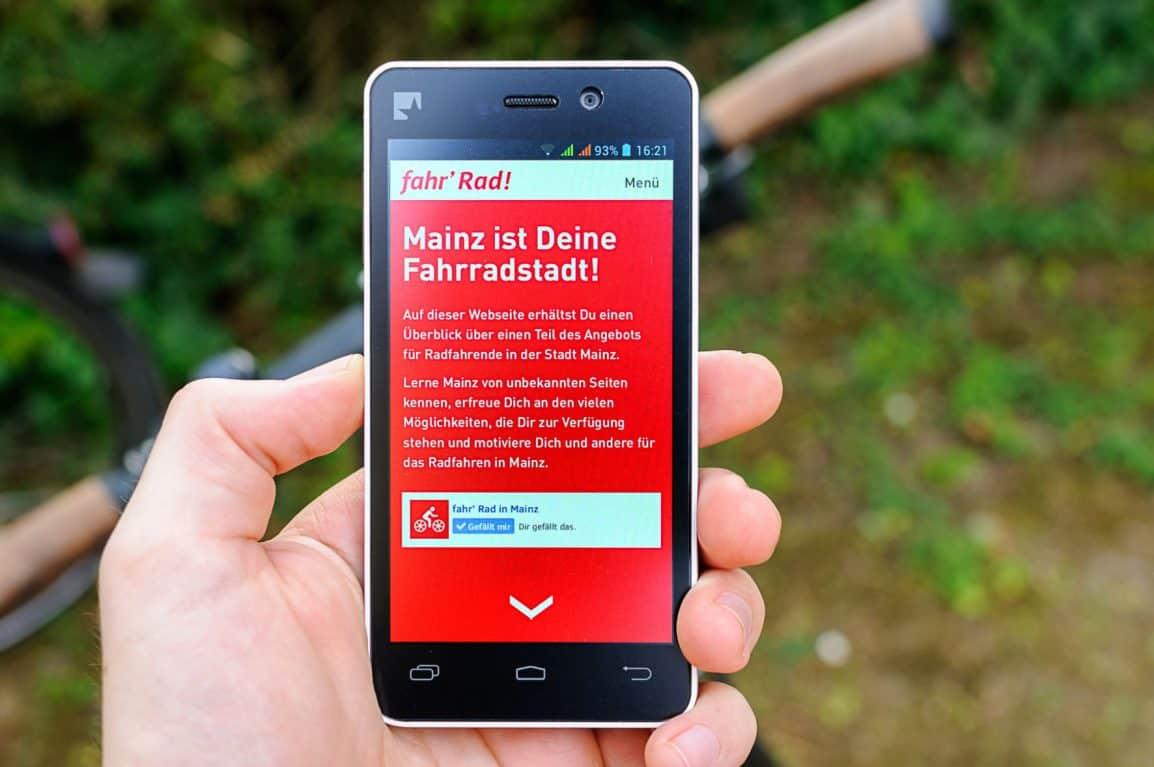Öffentlichkeitsarbeit: fahr Rad! – eine Liebeserklärung an das Radfahren in Mainz